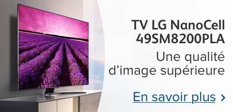 LG Nanocell TV : une image optimale, quel que soit l'angle