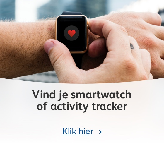 Vind je smartwatch of activity tracker