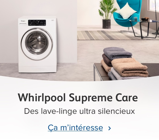 Lave-linge Whirlpool Supreme Care
