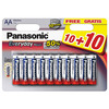 PANASONIC EVERYDAY AA/LR6 10+10FREE