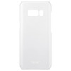 SAMSUNG CLEAR COVER SILVER GALAXY S8