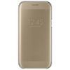 SAMSUNG CLEAR VIEW COVER GOLD GALAXY A5 2017