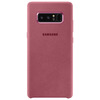 SAMSUNG ALCANTARA LEATHER COVER PINK GALAXY NOTE 8