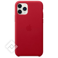 APPLE IPHONE 11 PRO LEATHER CASE RED