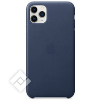 APPLE IPHONE 11 PRO MAX LEATHER CASE BLUE