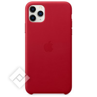 APPLE IPHONE 11 PRO MAX LEATHER CASE RED