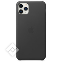 APPLE IPHONE 11 PRO MAX LEATHER CASE BLACK