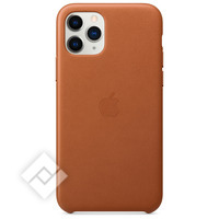 APPLE IPHONE 11 PRO LEATHER CASE SADDLE BROWN