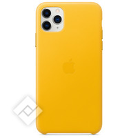 APPLE IPHONE 11 PRO MAX LEATHER CASE LEMON