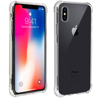 AKASHI Coque iPhone X/XS Protection Silicone Angles Renforcés Akashi Transparent