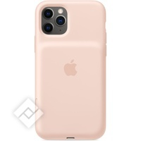 APPLE IPHONE 11 PRO SMART BATTERY CASE WITH WIRELESS CHARGING PINK SAND