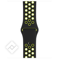 APPLE 38MM BLACK/VOLT NIKE SPORT BAND - S/M & M/L