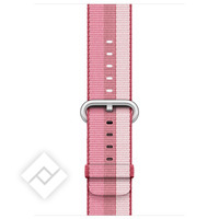 APPLE 42MM BERRY STRIPE WOVEN NYLON