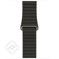 APPLE 42MM CHARCOAL GRAY LEATHER LOOP - LARGE