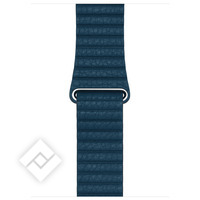 APPLE 42MM COSMOS BLUE LEATHER LOOP - LARGE