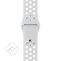 APPLE 42MM PURE PLATINUM/WHITE NIKE SPORT BAND - S/M & M/L