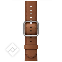 APPLE 42MM SADDLE BROWN CLASSIC BUCKLE