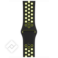 APPLE 44mm Black/Volt Nike Sport Band - S/M & M/L