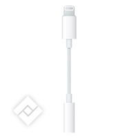 APPLE ADAPTOR LIGHTNING-MINIJACK 3.5MM
