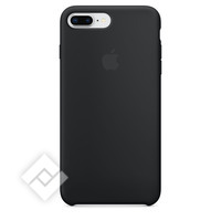 APPLE SILICONE COVER BLACK IPHONE 7 PLUS, 8 PLUS