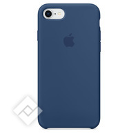 APPLE SILICONE COVER COBALT BLUE IPHONE 7,8