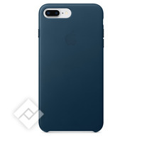APPLE LEATHER COVER COSMOS BLUE IPHONE 7 PLUS, 8 PLUS