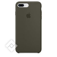 APPLE SILICONE COVER DARK OLIVE IPHONE 7 PLUS, 8 PLUS