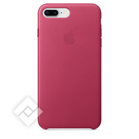 APPLE LEATHER COVER FUCHSIA PINK IPHONE 7 PLUS, 8 PLUS