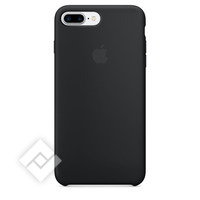 APPLE SILICONE COVER BLACK IPHONE 7 PLUS
