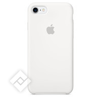 APPLE SILICONE COVER WHITE IPHONE 7
