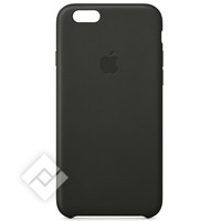 APPLE COVER LEATHER BK IPH6/6S