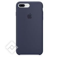 APPLE SILICONE COVER MIDNIGHT BLUE IPHONE 7 PLUS, 8 PLUS