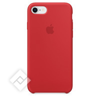 APPLE SILICONE COVER RED IPHONE 7,8