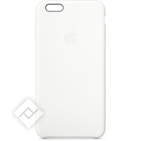 APPLE SILICONE CASE WHITE IPHONE 6+/6S+