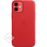 APPLE 12 MINI LEATHER CASE WITH MAGSAFE (PRODUCT) RED