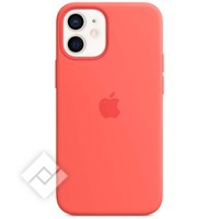 APPLE IPHONE 12 MINI SILICONE CASE WITH MAGSAFE PINK CITRUS