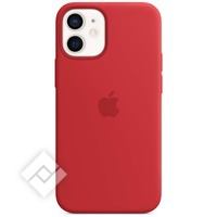 APPLE 12 MINI SILICONE CASE WITH MAGSAFE (PRODUCT) RED