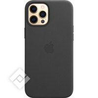 APPLE IPHONE 12 PRO MAX LEATHER CASE WITH MAGSAFE BLACK