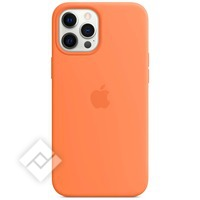 APPLE IPHONE 12 PRO MAX SILICONE CASE WITH MAGSAFE KUMQUAT