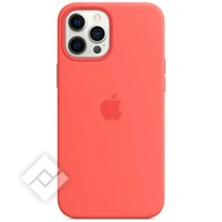 APPLE IPHONE 12 PRO MAX SILICONE CASE WITH MAGSAFE PINK CITRUS