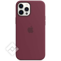 APPLE IPHONE 12 PRO MAX SILICONE CASE WITH MAGSAFE PLUM