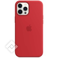 APPLE 12 PRO MAX SILICONE CASE WITH MAGSAFE (PRODUCT) RED