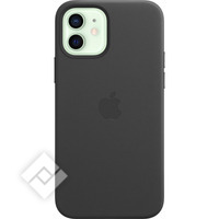 APPLE IPHONE 12/12 PRO LEATHER CASE WITH MAGSAFE BLACK
