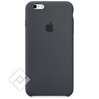 APPLE SILICONE CASE DARK GREY IPHONE 6S PLUS