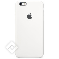 APPLE SILICONE CASE WHITE IPHONE 6S PLUS