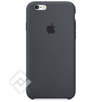 APPLE SILICONE CASE DARK GREY IPHONE 6/6S
