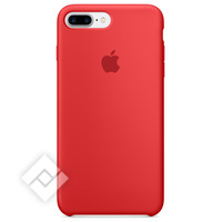 APPLE IPHONE 7 PLUS SILICON RED