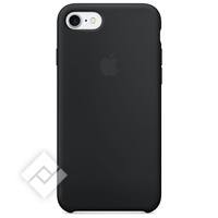APPLE SILICONE CASE BLACK IPHONE 7