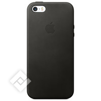 APPLE LEATHER CASE BLACK IPHONE SE