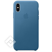 APPLE LEATH CASE BLUE IPHONE XS